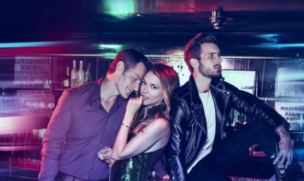 Younger: Charles, Liza e Josh in un'immagine dalla serie