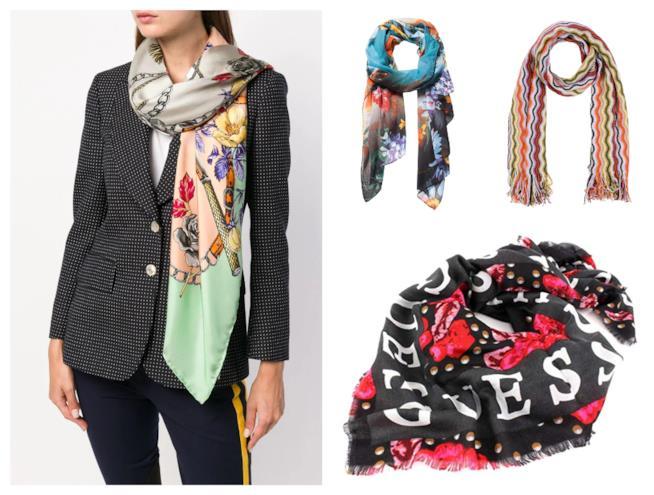Sciarpe e foulard di tendenza 2018