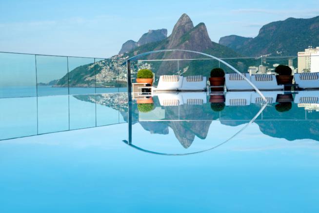L'Hotel Fasano a Rio De Janeiro