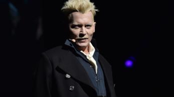 Johnny Depp al San Diego Comic Con 2018