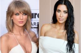 Taylor Swift e Kim Kardashian