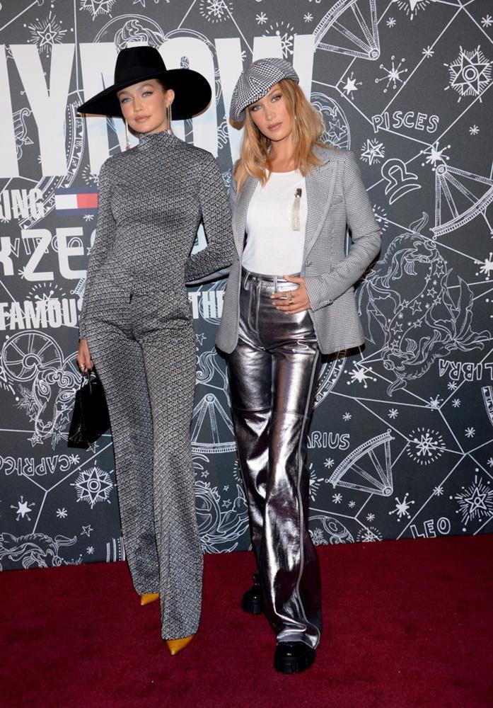 Gigi Hadid e Bella Hadid con look abbinati