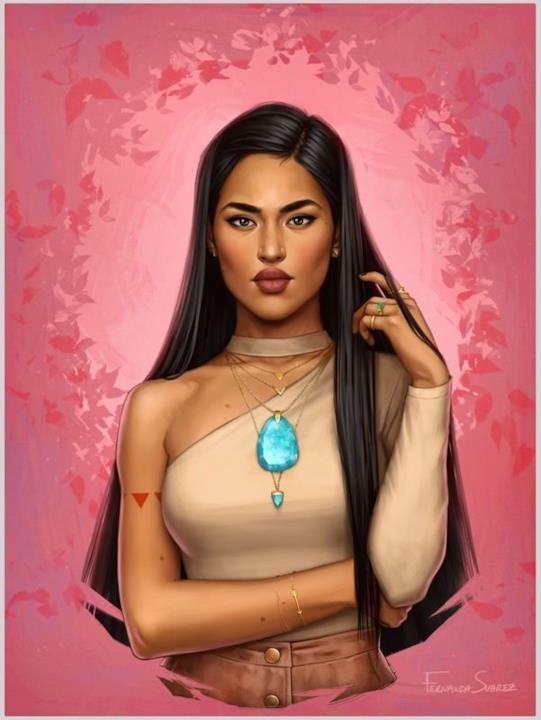 Una versione contemporanea di Pocahontas