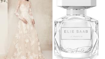 per Le Parfum in White Elie Saab si ispira ai suoi abiti da sposa