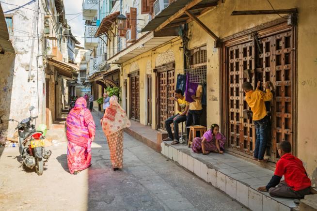 Scorcio di vita a Zanzibar