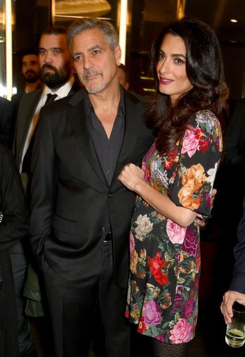 Amal Alamuddin incinta con George Clooney
