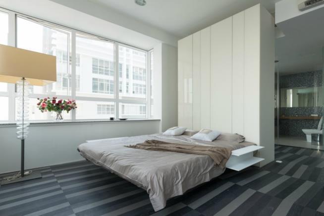 Perch scegliere il letto a centro stanza scenografico e - Letto nell armadio ...