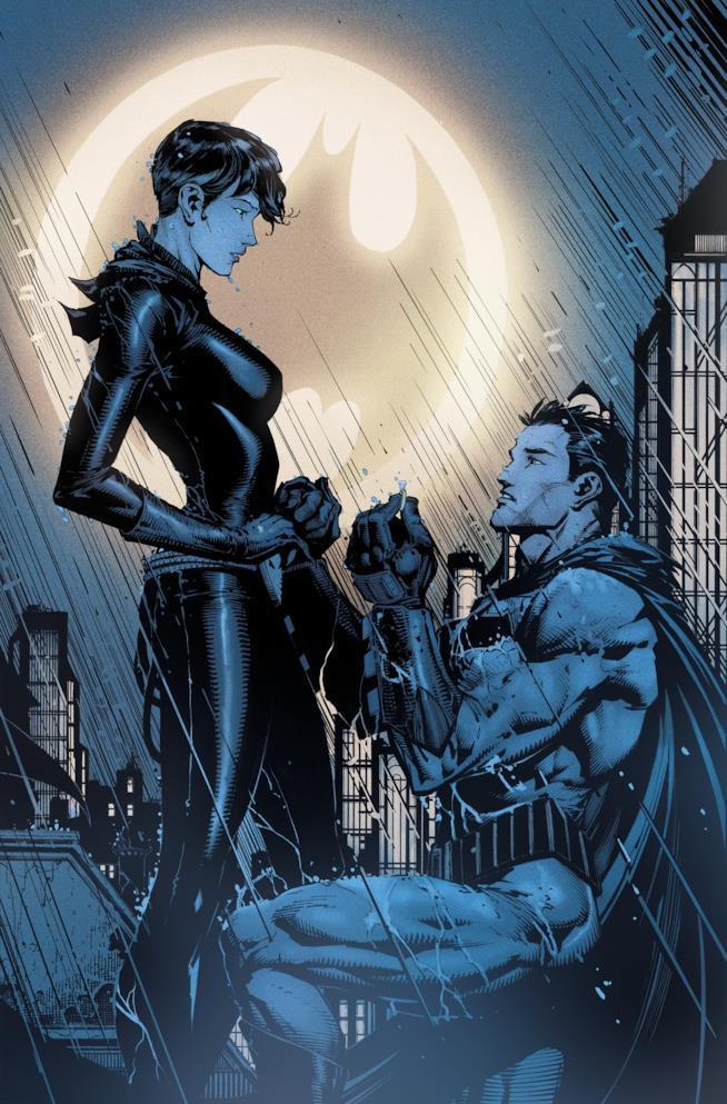 Batman e Catwoman fidanzamento