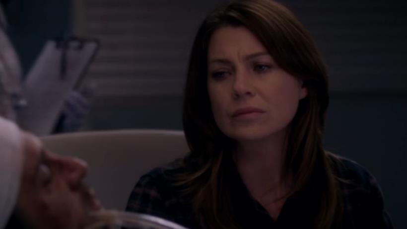 Meredith Grey dà l'addio a Derek Shepherd