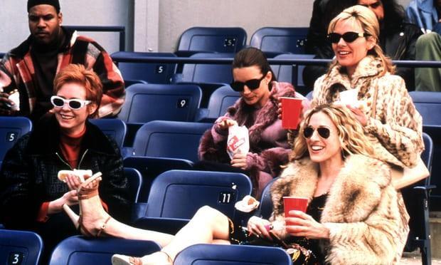 Le ragazze di Sex and the City a vedere una partita