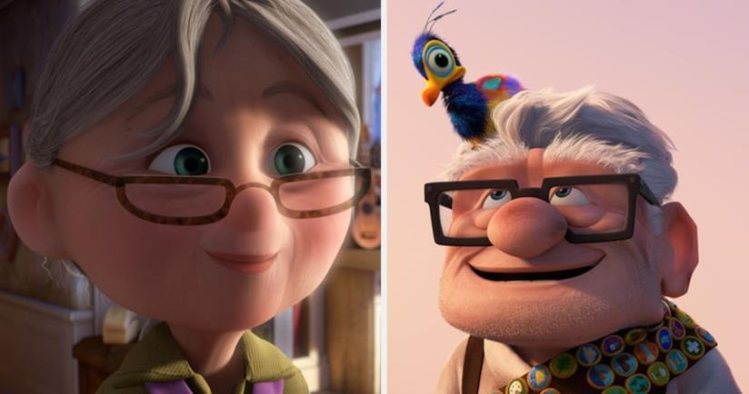 Ellie e Carl di Up
