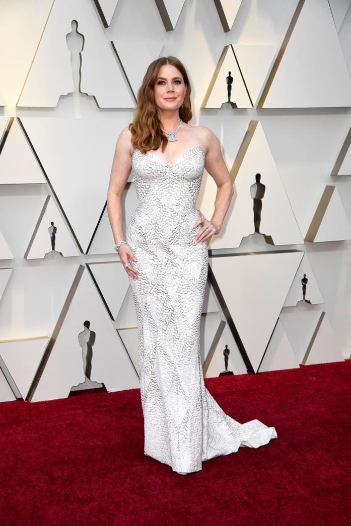 Amy Adams sul red carpet degli Oscar