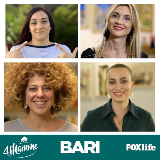 4mamme, primo episodio, Bari: le protagoniste