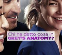 Chi ha detto cosa in Grey's Anatomy?