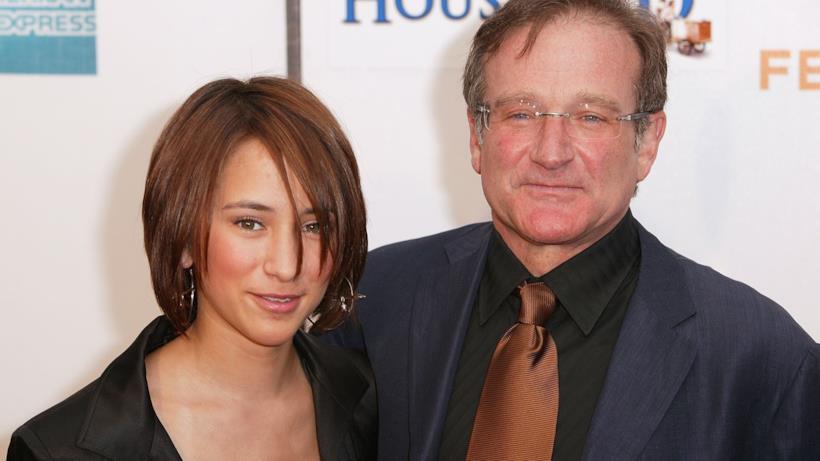 Robin Williams e Zelda Williams