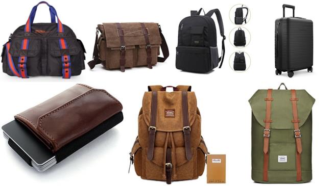 borse,zaini e portafoglio da uomo