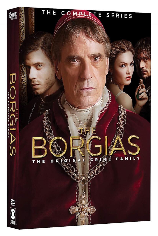 Cofanetto DVD dei The Borgias - Seasons 1-3