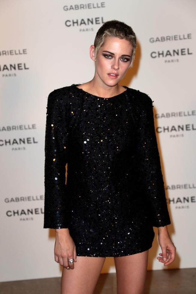 L'attrice Kristen Stewart a un evento di Chanel