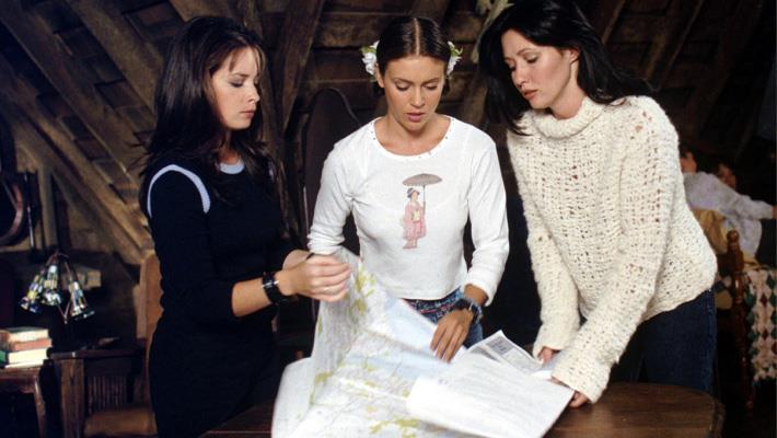 Holly Marie Combs, Alyssa Milano e Shannen Doherty