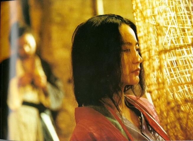 Brigitte Lin in una scena di Ashes of Time
