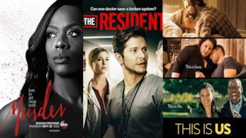 Le serie rinnovate nel 2018