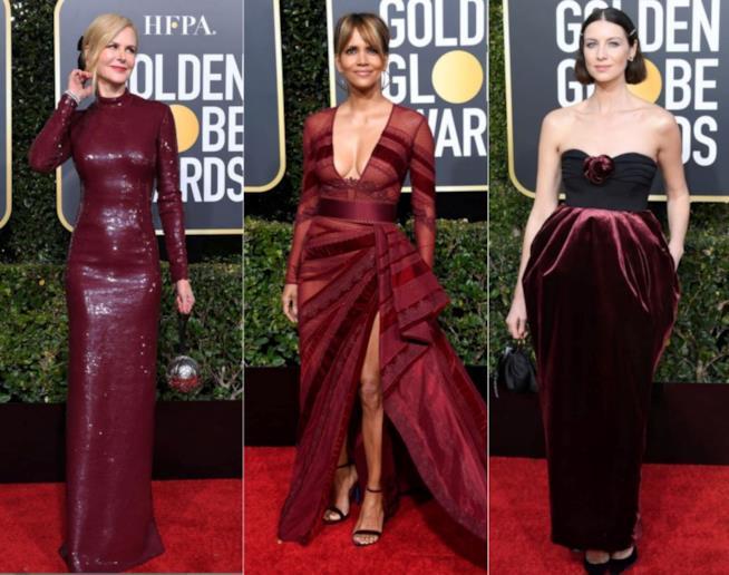 Nicole Kidman, Halle Berry e Caitriona Balfe ai Golden Globes