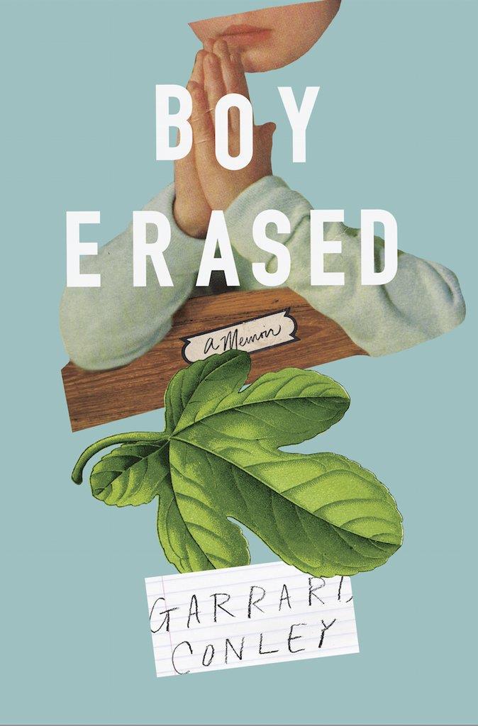 La copertina del libro Boy Erased