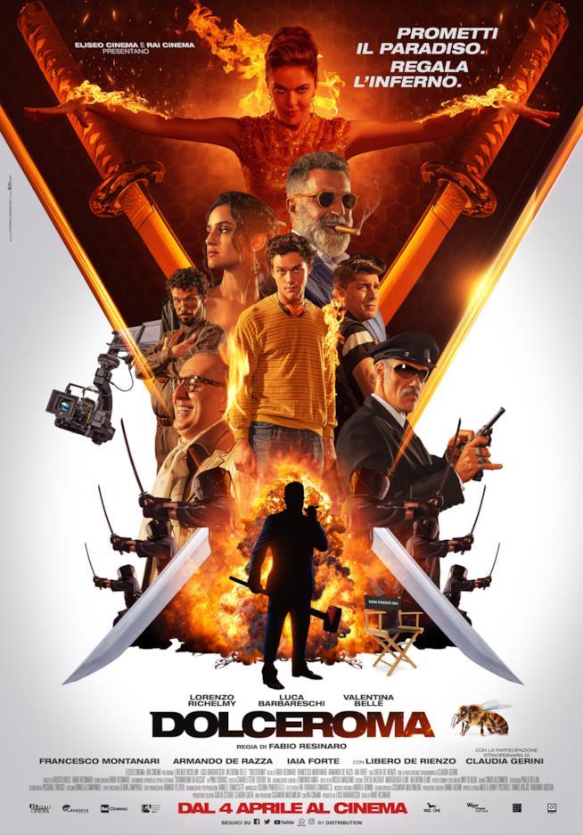 Il poster del film DolceRoma