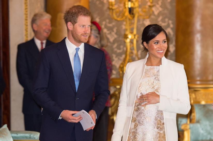 Il Principe Harry e Meghan Markle a un evento ufficiale