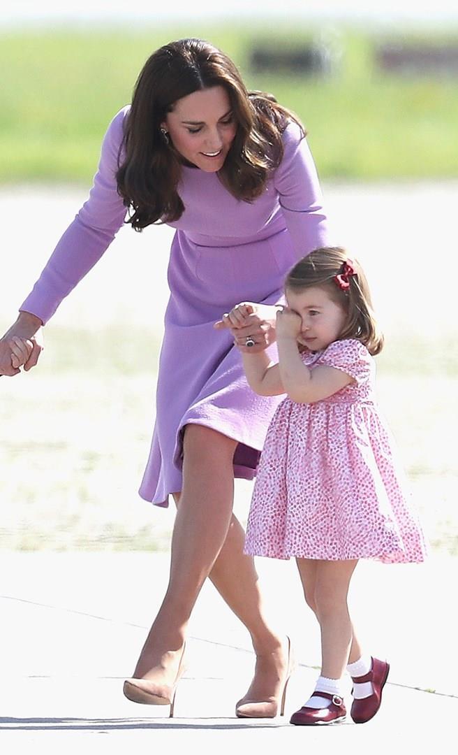 Kate Middleton e la figlia Charlotte
