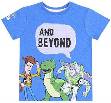 Maglietta Blu Toy Story Disney