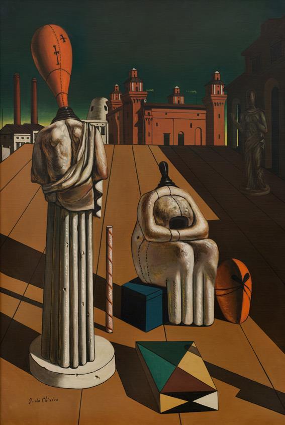 Giorgio de Chirico, Le Muse inquietanti, 1950