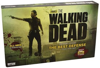 The Walking Dead the Best Defense Co-operative Board Game