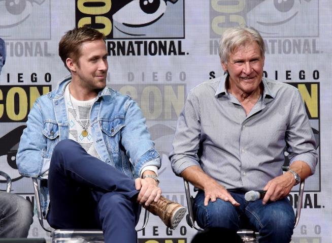 Ryan Gosling e Harrison Ford al Comic-on di San Diego 2017