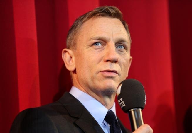 Primo piano di Daniel Craig