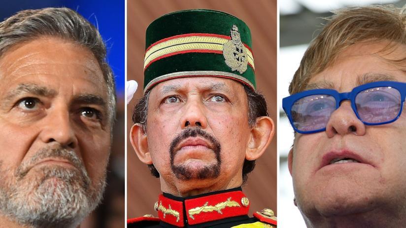 George Clooney contro il sultano del Brunei