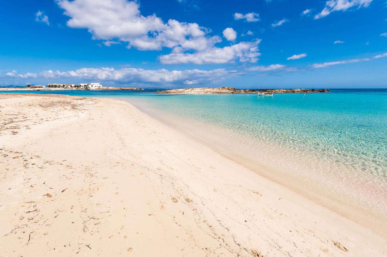 Formentera le spiagge pi belle - Immagini da colorare la spiaggia ...