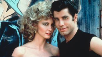 John Travolta e Olivia Newton-John in Grease