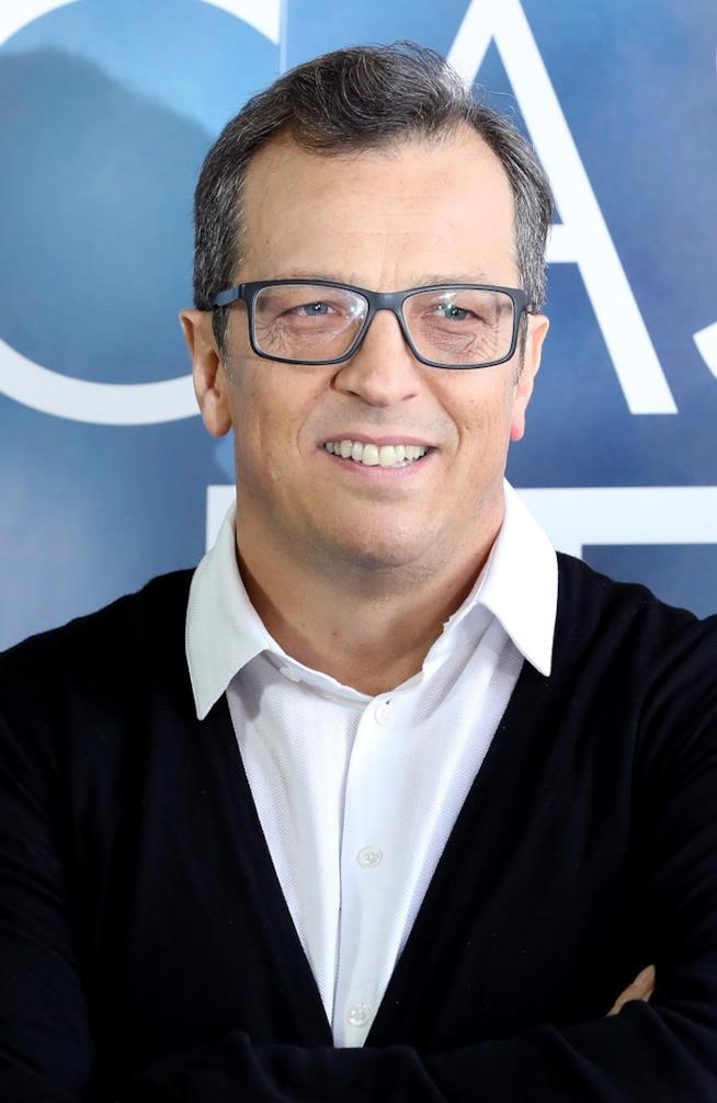 Gabriele Muccino in primo piano