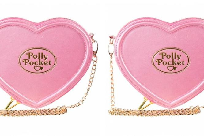 La borsa a cuore di Polly Pocket