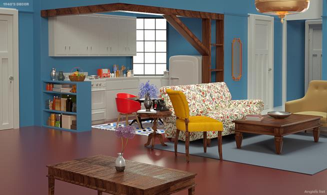 Appartamento di Monica anni Quaranta