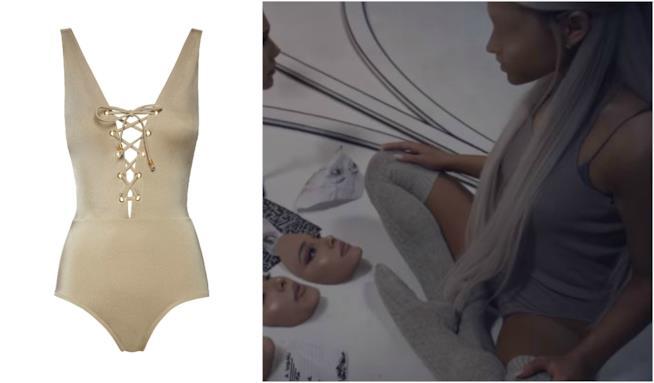 Costume intero moda mare P/E 2018 come Ariana Grande
