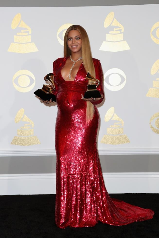 Il look di Beyoncé ai Grammy Awards 2017
