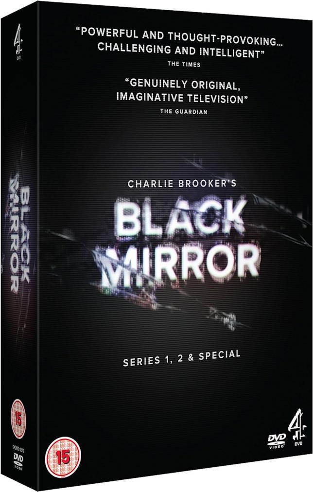 Cofanetto DVD di Black Mirror - Seasons 1-3