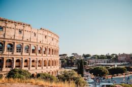 Roma giornata di sole