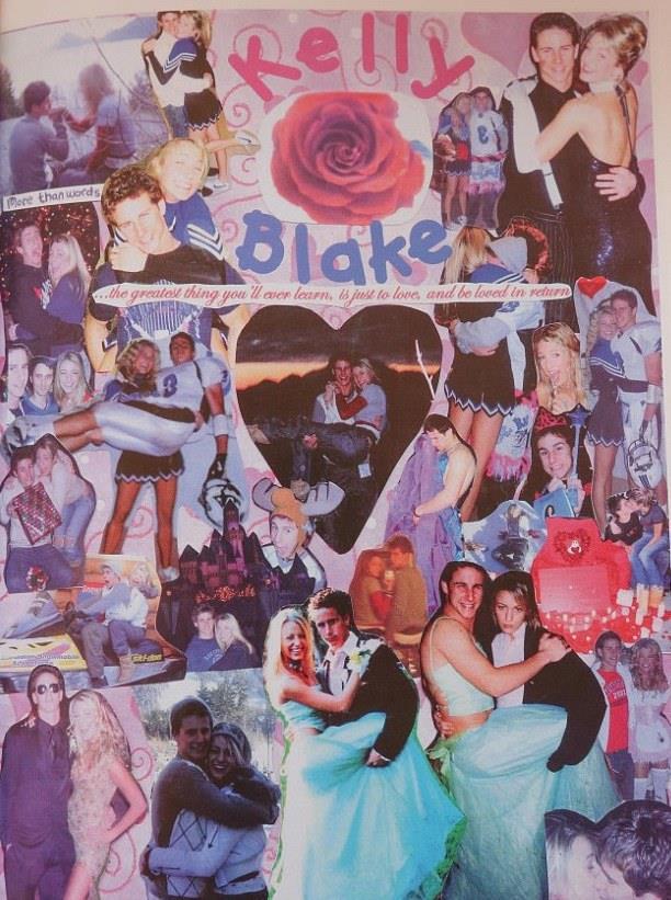 Blake Lively con il suo fidanzato al liceo