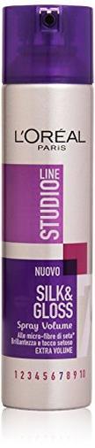 Silk&Glossy Volume Spray Fissante Iper-Forte