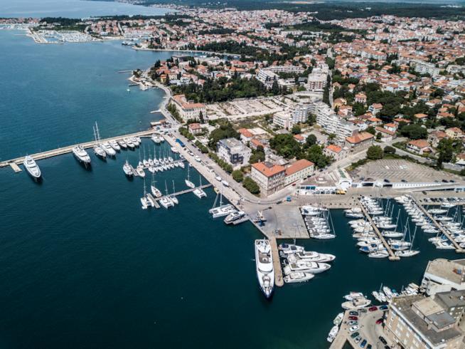 Zadar dall'alto