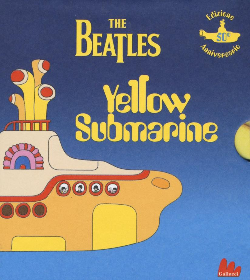 Yellow Submarine in versione illustrata pop-up