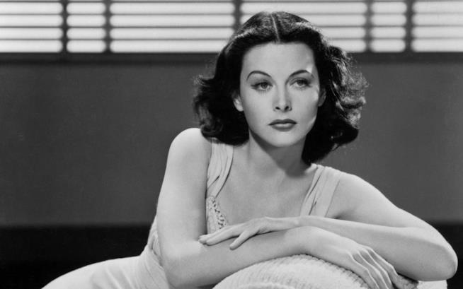 Hedy Lamarr sul set